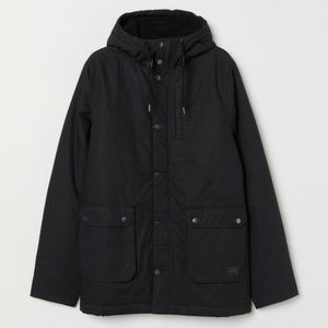 H&M men's Parka Jacket New